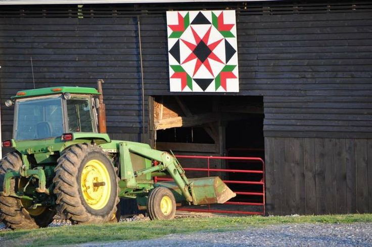Barn quilts.