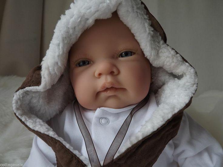 Steampunk Awake Newborn Size Childs 1st Reborn Baby Doll Birthday Xmas Gift