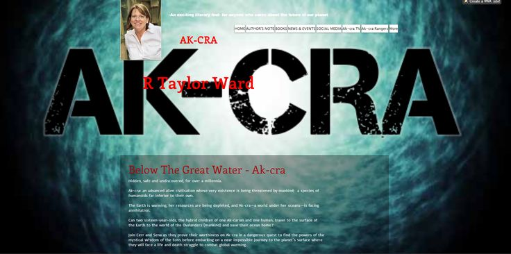 Ak-cra: although the one novel it is divided into two books. This is a Book One (below The Great Water) teaser. Taken from my wix website.  http://r-taylor-ward.wix.com/r-taylor-ward