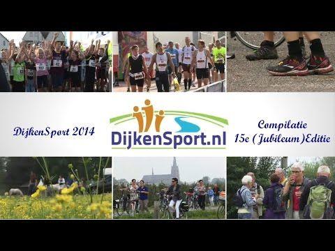 15e Editie van Dijkensport (2014) Compilatie - YouTube