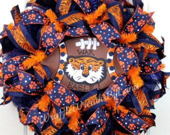 Auburn University Wreath Auburn Wreath by SouthernStylesByJenn