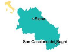 San Casciano dei Bagni - Toskana Sehenswürdigkeiten
