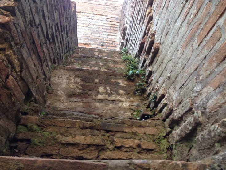 Random stairs in Ostia