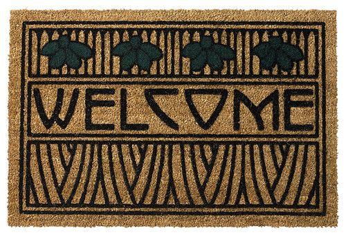 dard hunter arts and crafts doormat