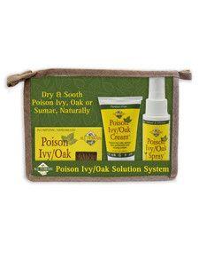 All Terrain- Poison Ivy/Oak Solution System 3 pc