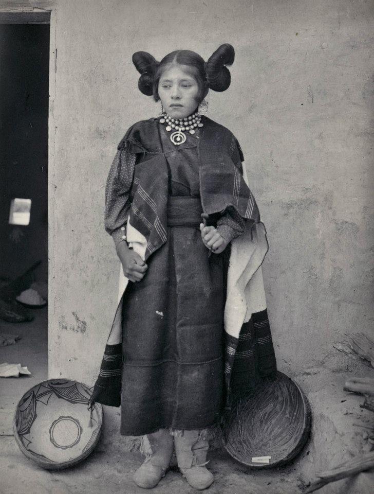 HOPI GIRL , 1899