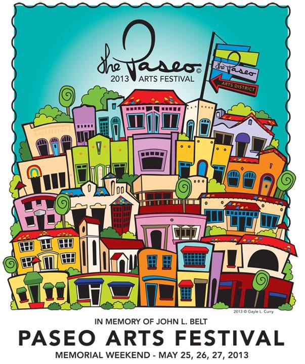 2013 Paseo Arts Festival