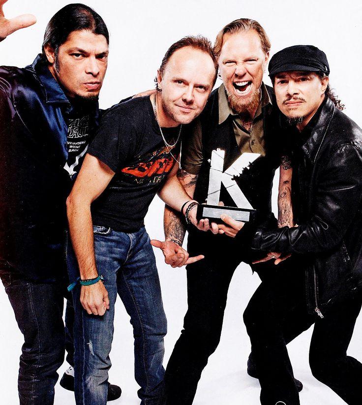 blogAuriMartini: Banda Metallica 30 anos de história