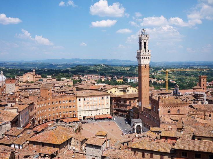 セピア色をした美しい古都 イタリアトスカーナ地方 シエナの見どころ                                                                                                                                                                                 もっと見る