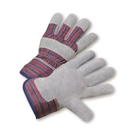 Blue Hawk 3-Pack Large Men's Leather Palm Work Gloves