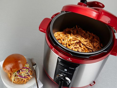 Today's automatic electric pressure cookers are a breeze to use (unlike those scary contraptions Mom & Grandma cooked with). Watch this taste of a video from my new online Wolfgang Puck Cooking School for ideas of just some of the many things you can do so easily with a pressure cooker to cook like a pro at home. (And visit my Cooking School with the link on this page to get a free 14-day no-obligation trial membership—or give one to your mom!)
