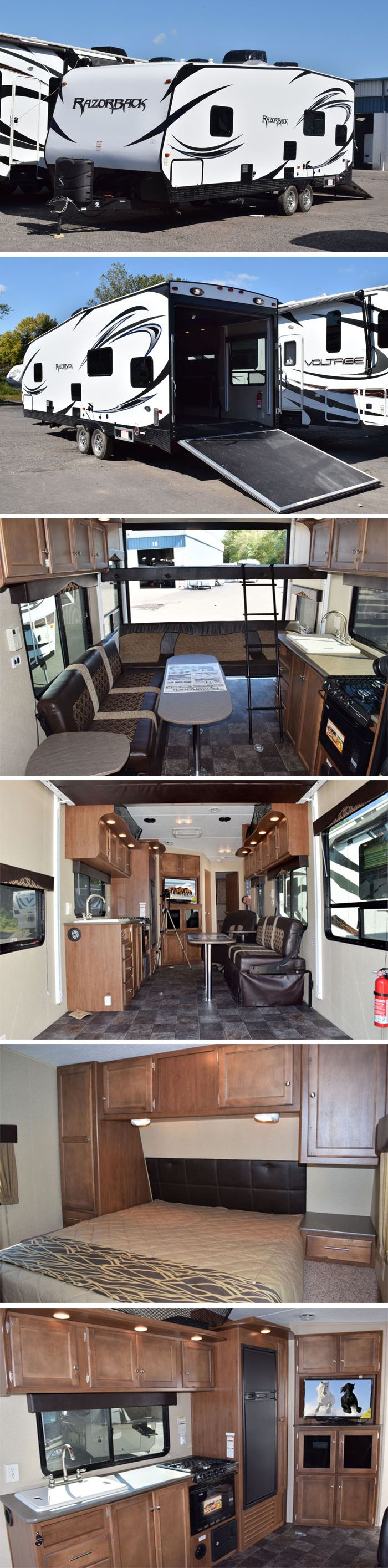 2015 Dutchmen Razorback 2550 | Travel Trailer Toy Hauler