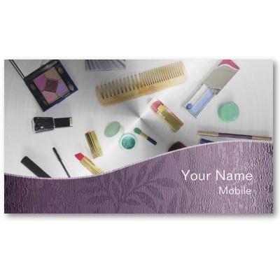 Make Up Artist Business Card