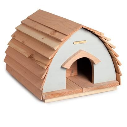 Light Blue Hedgehog House
