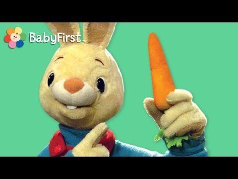 (2) Ein Wörterspiel mit Harry, dem Hasen: Was ist das? Eine Möhre! | Babyvideos von BabyFirstTV! - YouTube