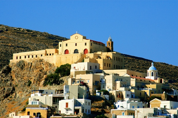 St. George cathedral church - Ano Syros