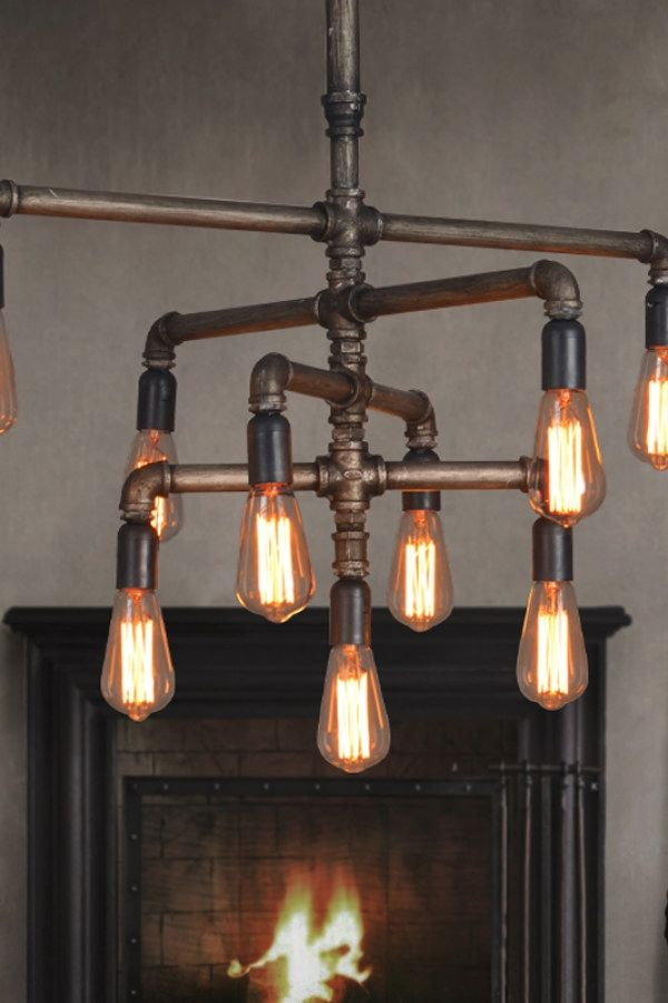 12 Easy Industrial Lighting Designs To Accent Your Urban Loft Industrial Light Industrial Light Fixtures Vintage Industrial Lighting Vintage Industrial Decor