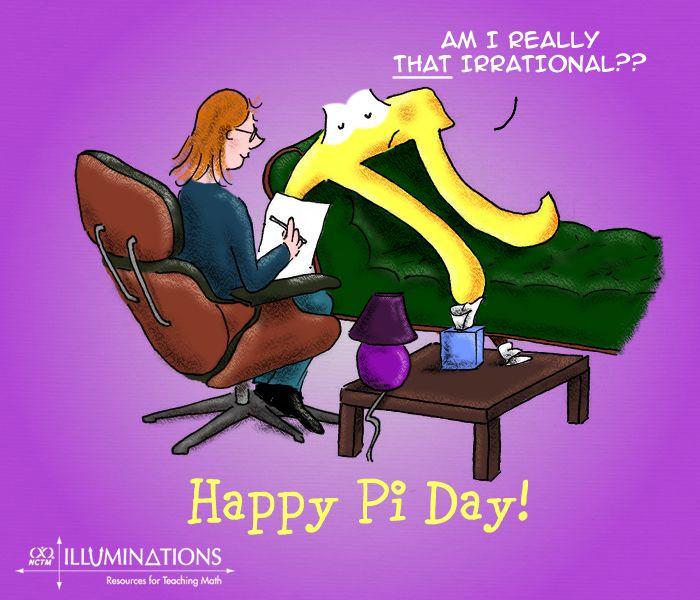 Am I really that irrational? Happy Pi Day from Illuminations!