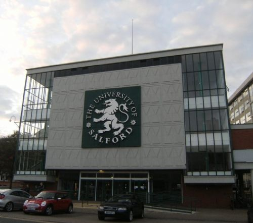 Salford University where I studied