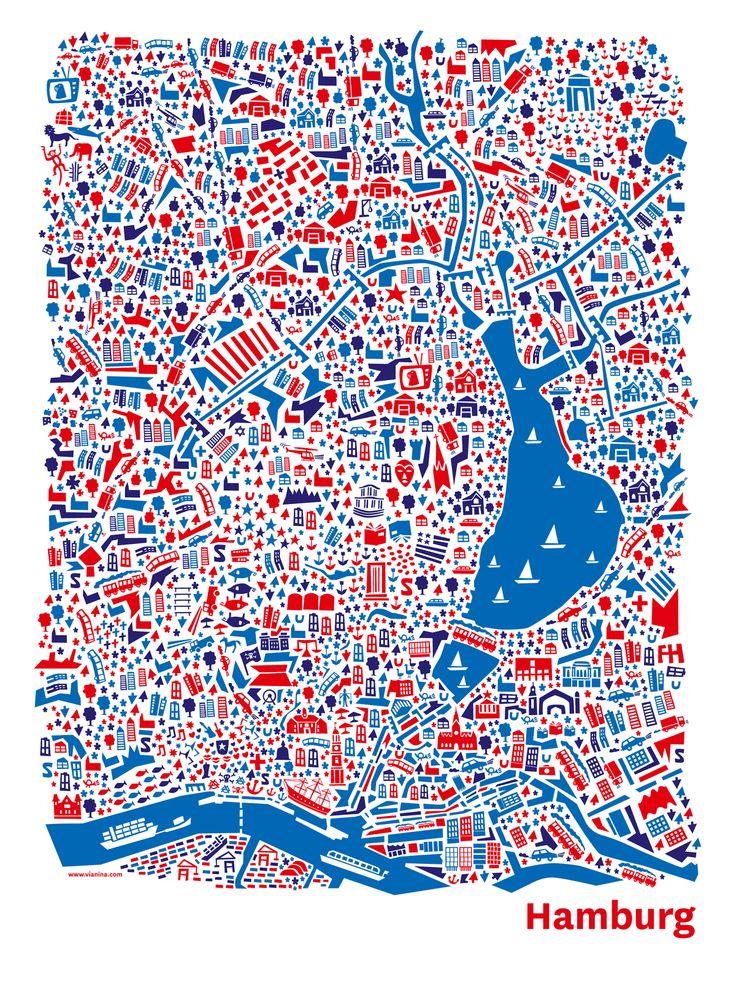 Hamburg Poster – Alexanderplatz Hamburg