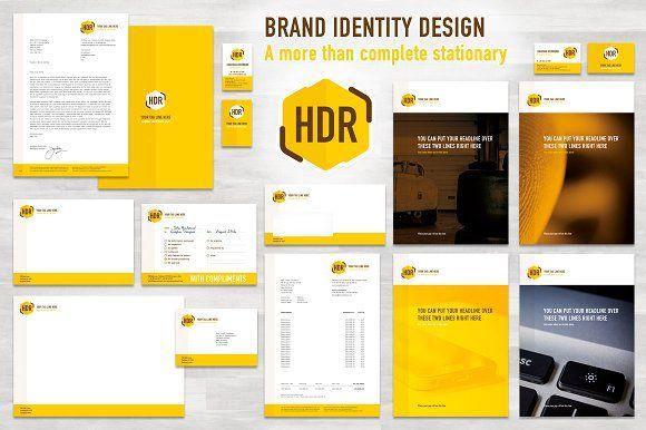 Complete Brand Identity (EU/cm) by Fresh Design Elements on @creativemarket