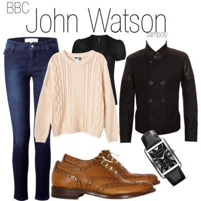 Watson-Inspired Outfit