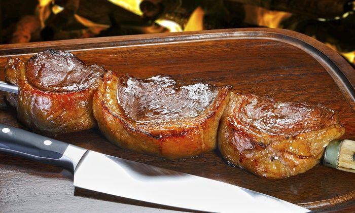 Bull Grill - Northwest Tampa: All-You-Can-Eat Brazilian Steakhouse Meal for Two or Four at Bull Grill (Up to 41% Off). 3 Options Available