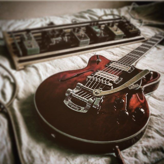 """38 Likes, 2 Comments - Quintin H. (@quintin_h_86) on Instagram: """"Evening vibes -  #gretsch"""""""