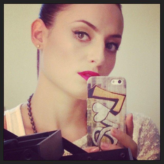 maquillaje de hoy #aura
