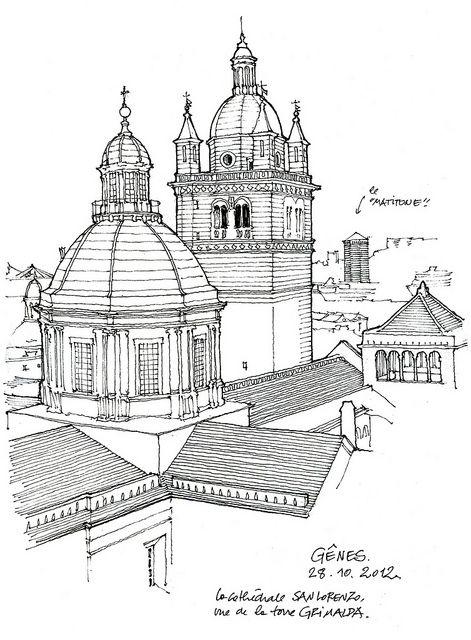 Genova, san Lorenzo by gerard michel, via Flickr