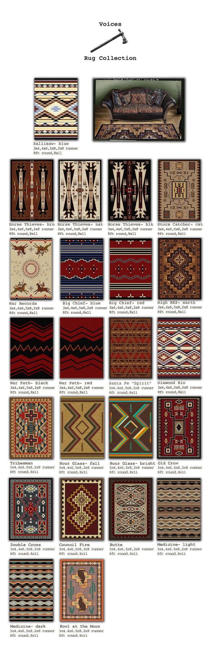 Americandakota - site for beautiful rugs