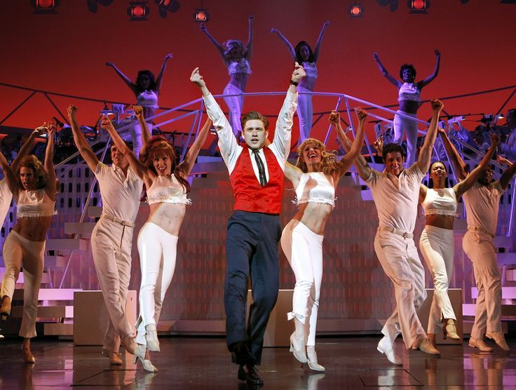 Aaron Tveit as Frank Abagnale Jr in Catch Me If You Can #Broadway #Musical