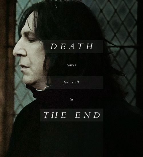 Death comes for us all in the end. i'm pinning this for the link it sends me to