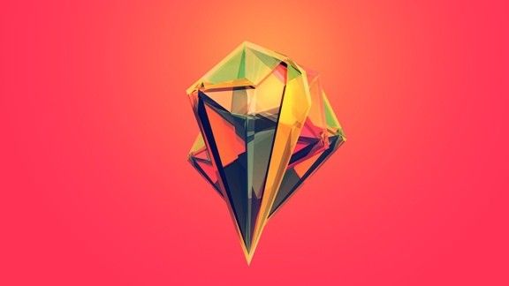 Çokgen Şekil #wallpaper #çokgen #soyut #abstract #polygon