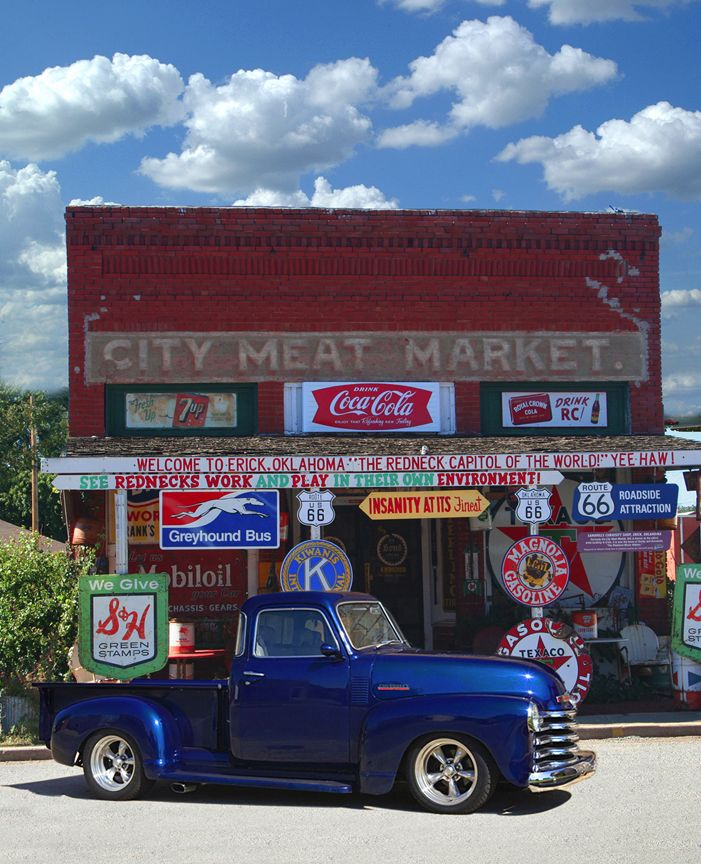 Gmc Tulsa: 17 Best Images About Oklahoma Route 66 Popular Attractions