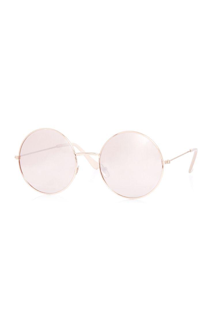 Round blush sunglasses, Primark. Spring/Summer Trends 2017
