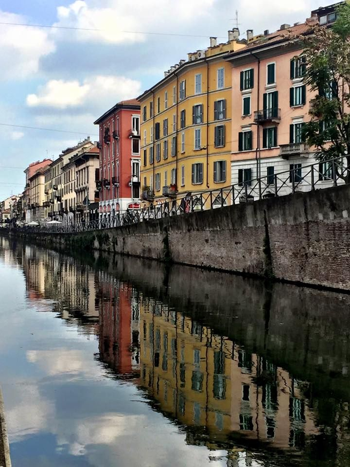 Canals of Milano. Navigli district, beautiful picture by Alessandra Favaro www.vaquelpaese.com