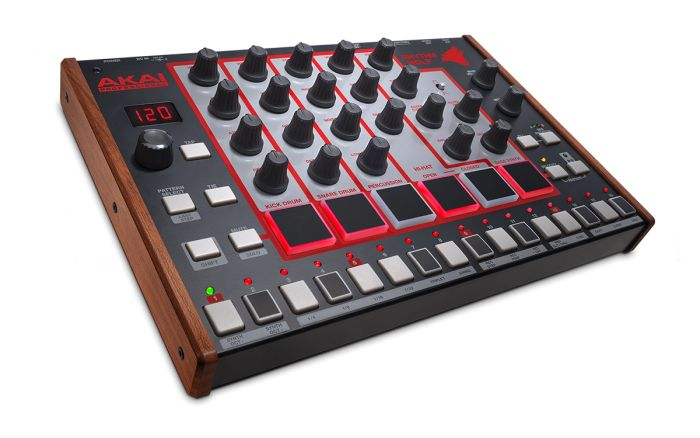 Akai Rhythm Wolf (Drum/Bass/Step Sequencer).