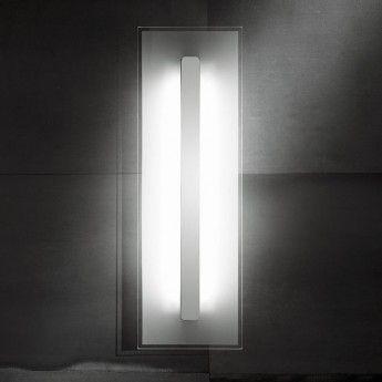 Nowoczesny kinkiet/plafon z serii Boss #Boss #Sforzin_Illuminazione #włoskie_lampy #design #nowoczesne_lampy #lampy #szkło #łazienka #lampy_kraków #abanet #abanet_kraków