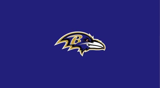Baltimore Ravens 8' Pool Table Cloth