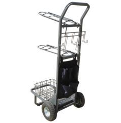 Rolling Saddle Rack Cart - Statelinetack.com
