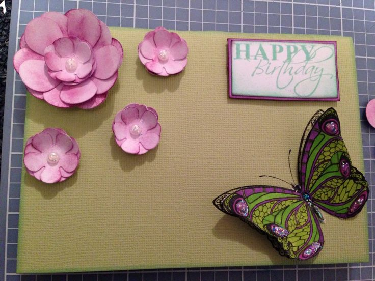 Birthday card  designed by Kristy Knight Independent Kaszazz Consultant