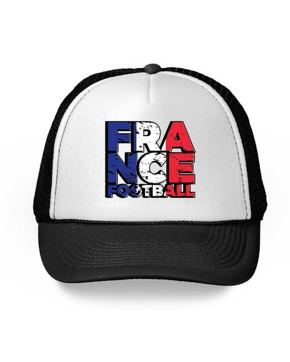 France Football Trucker Hat France Hat for Men and Women French Soccer 2018 Hat …  – Products