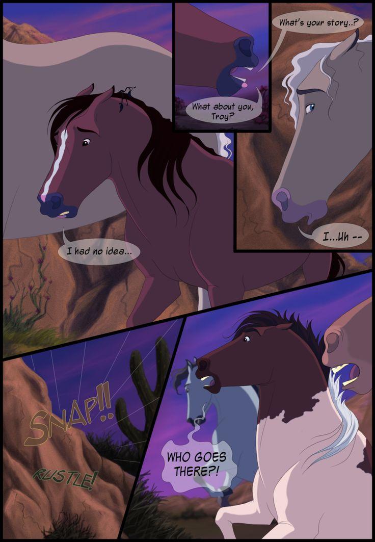 Картинки лошади комиксы