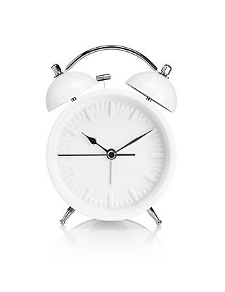 Small Contemporary Alarm Clock | M&S