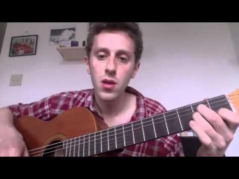 flamenco guitar lesson part 1, common chords