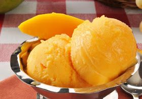 Yummy Mango Ice Cream