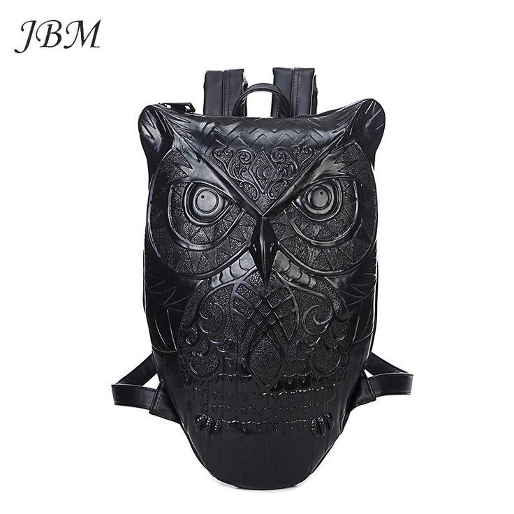 Купить товаррюкзак женский 2015 новый стильный прохладный черный искусственная кожа сова рюкзак женские горячая распродажа сумки женские быстрая доставка в категории Рюкзакина AliExpress.                        Уважаемый клиент              Добро пожаловать JBM мешок магазине!        Мы являемся