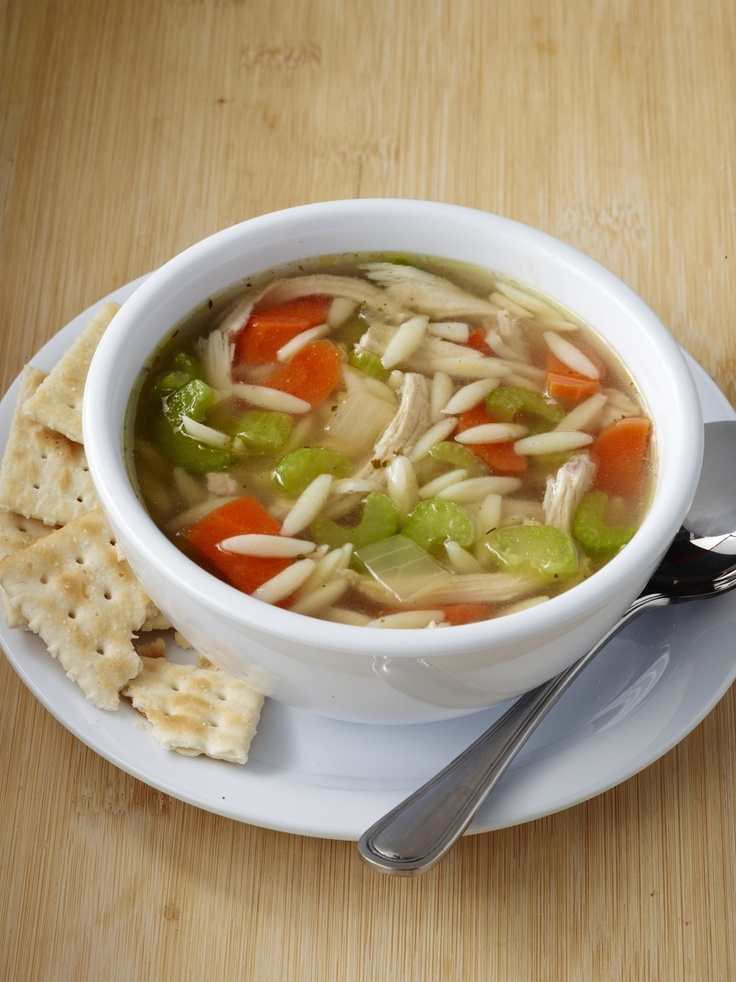 Chicken and Orzo Soup from Zoes Kitchen