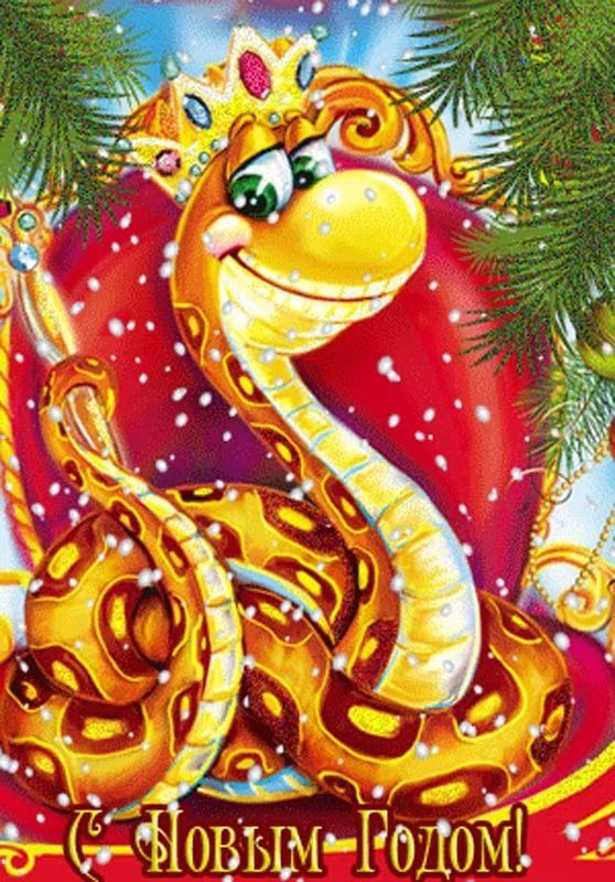 Поздравления с новым годом змеи от змеи суп оригинальное